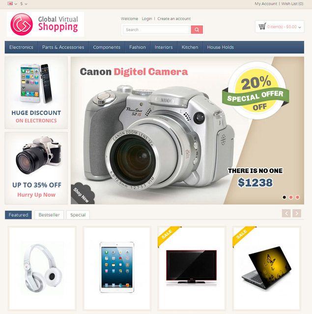 E-Commerce theme