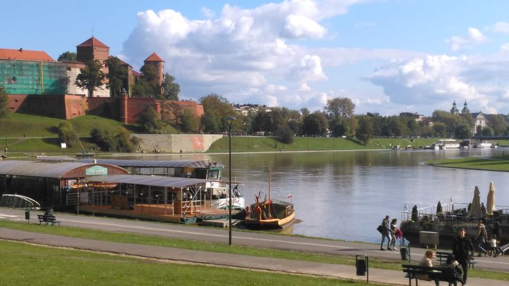 Clouds and Wawel Castle