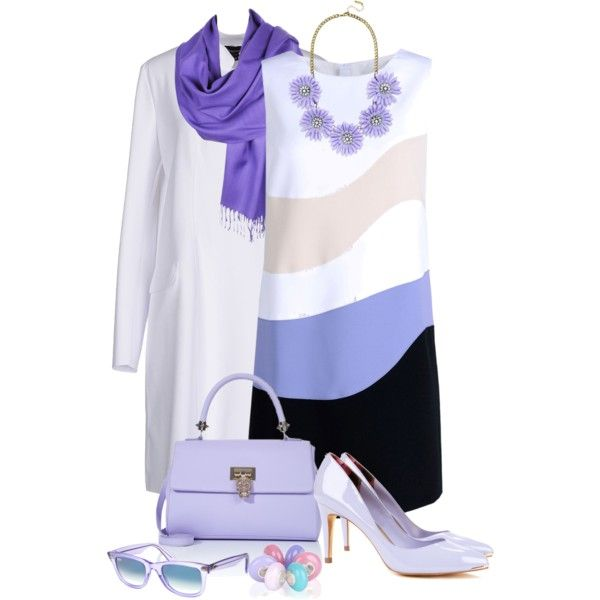 purple by info-934 on Polyvore featuring Aquilano.Rimondi, Emporio Armani, Ted Baker, BaubleBar, Bling Jewelry and Ray-Ban