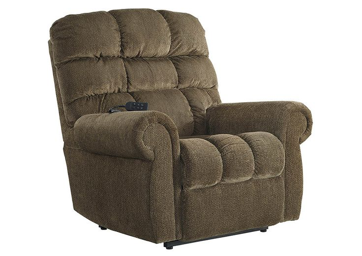 Furniture Outlet   Bend, OR Ernestine Truffle Power Lift Recliner