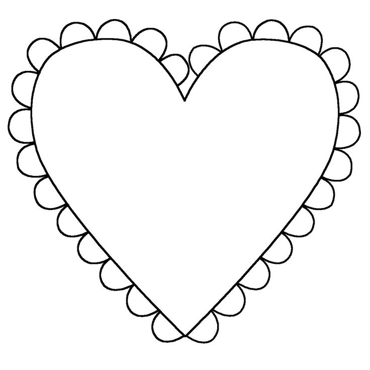 Heart Shapes And Decorated