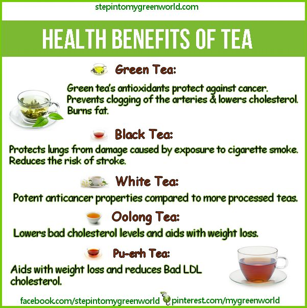 ☛ Do you know the amazing health benefits of Green tea, Pu-erh tea, Oolong tea and White tea?  For more on the extraordinary Pu-erh tea:  http://www.stepintomygreenworld.com/greenliving/greenfoods/pu-erh-tea-the-tonic-for-a-healthy-life  ✒ Share | Like | Re-pin | Comment