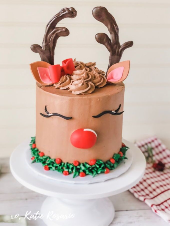 Christmas Cakes 2020 Pinterest 7 Christmas Cake Ideas That'll Be Your New Holiday Obsession in