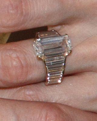 Angelina Jolie's engagement ring. Designer Robert Procop