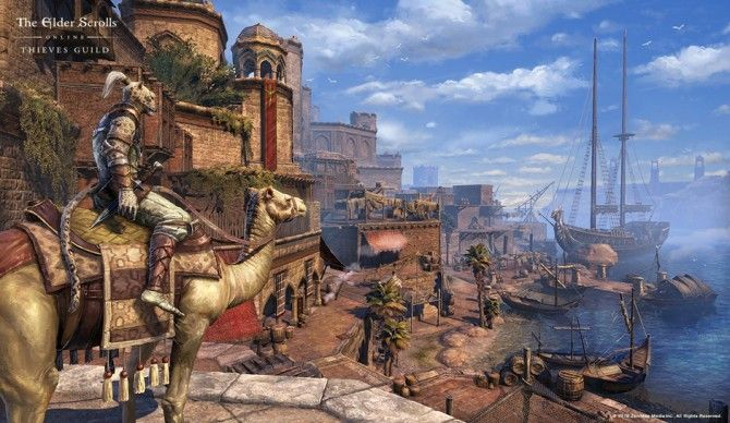 Price point of Elder Scrolls Online Thieves Guild DLC release in March When you need to Buy ESO Gold, you can just use 8% off code to buy them on Cushygame.com.