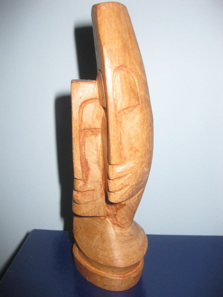 The Lovers Fiji Solid Wood Hand Carving Carving Fiji