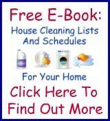 lista de verificación de limpieza