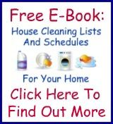 Free Housekeeping Checklist E-Book For Daily, Weekly & Seasonal Cleaning
