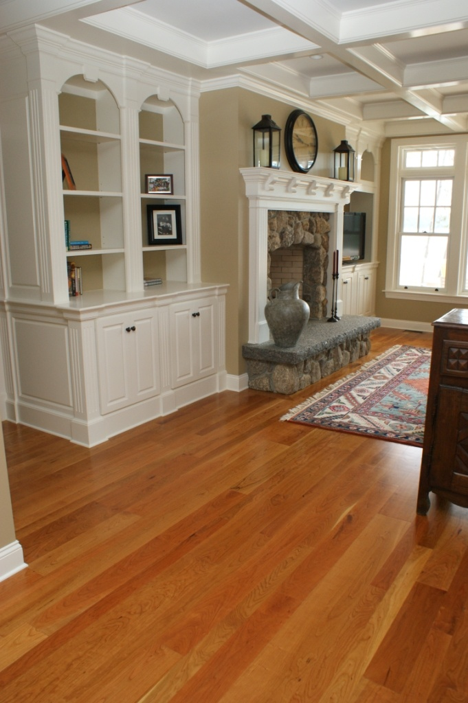 Cherry flooring with white trim | Other decorating ideas ...