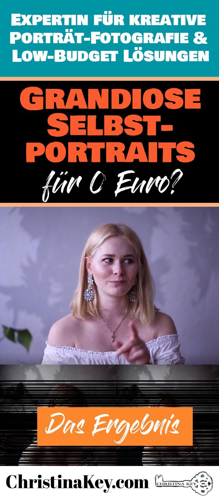 Ist es möglich mega Selbstportraits für 0 Euro zu machen?