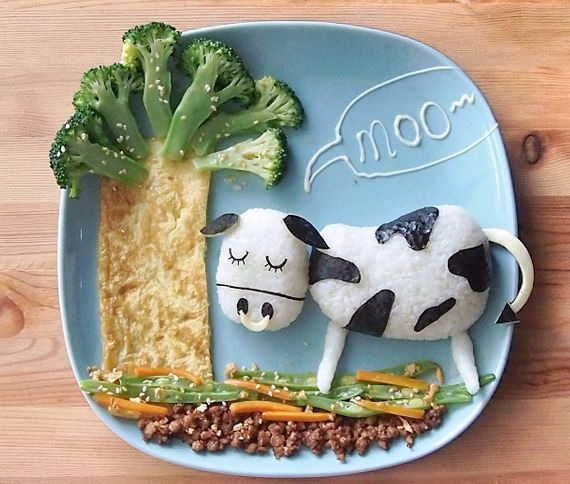Playing with food for kids by Samantha Lee