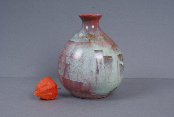 Vase from Danish pottery Michael Andersen & by Danishartpottery