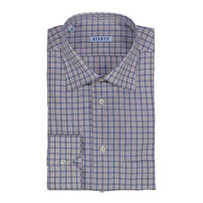 Shirts - GIODI'S - Camicia in cotone, vestibilità regolare - Fantasia 2 colori. €19,00. #hallofbrands #hob #camicia #shirt