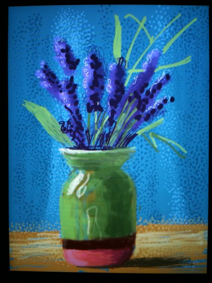 david hockney botanicals - Google Search