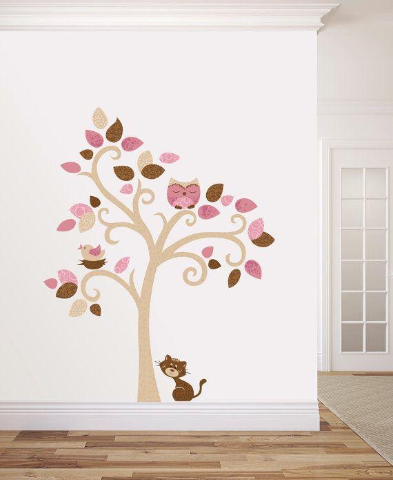 Albero adesivo da muro Cameretta bambini Wall di labandadelriccio