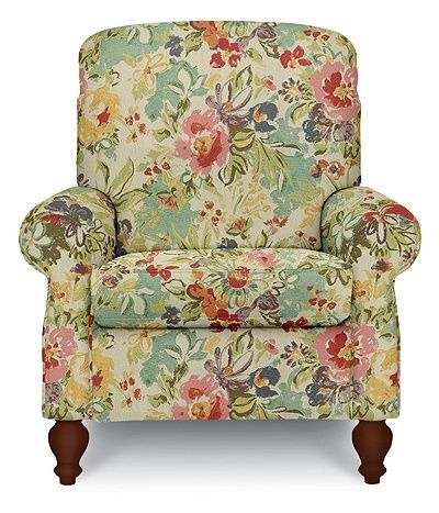 Spindale High Leg Recliner by La-Z-Boy... I gotta get a new recliner for myself... Might as well get a pretty one!
