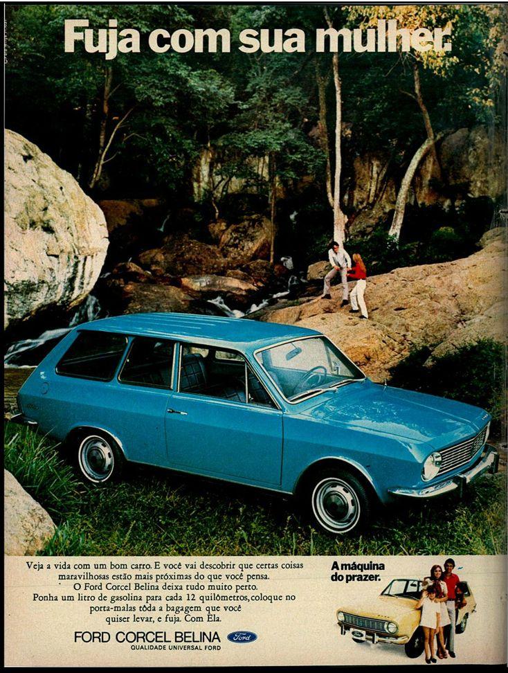Ford Corcel Belina - Brasil - adv (1971)