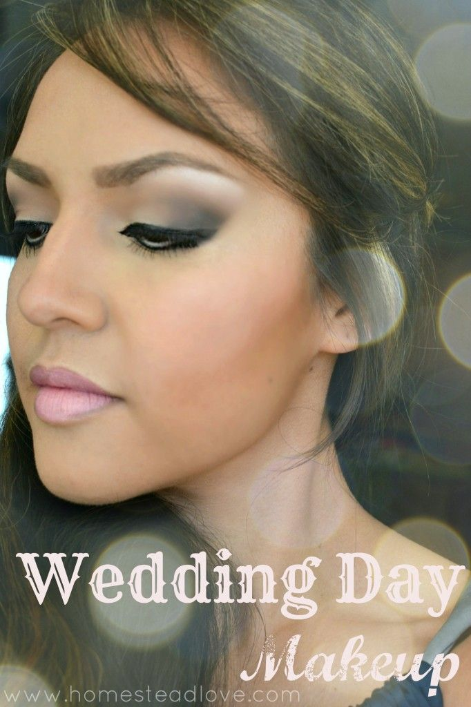 30 best wedding makeup images on pinterest beauty tips beauty wedding day makeup look for your big day including video tutorial classic elegant and diy solutioingenieria Images