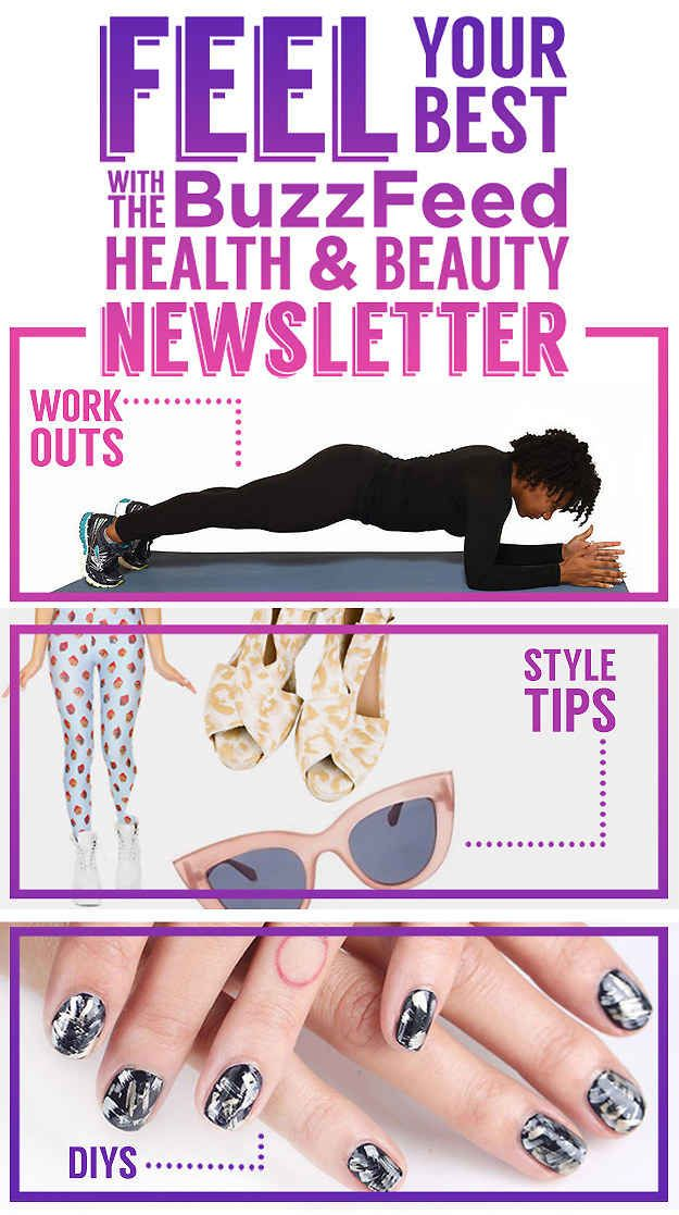 Feel Your Best With The BuzzFeed Health & Beauty Newsletter