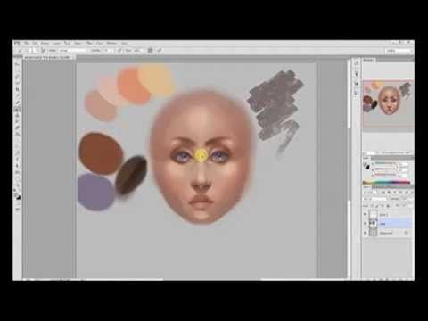 How to Paint Skin Realistically (Using a Face) - YouTube