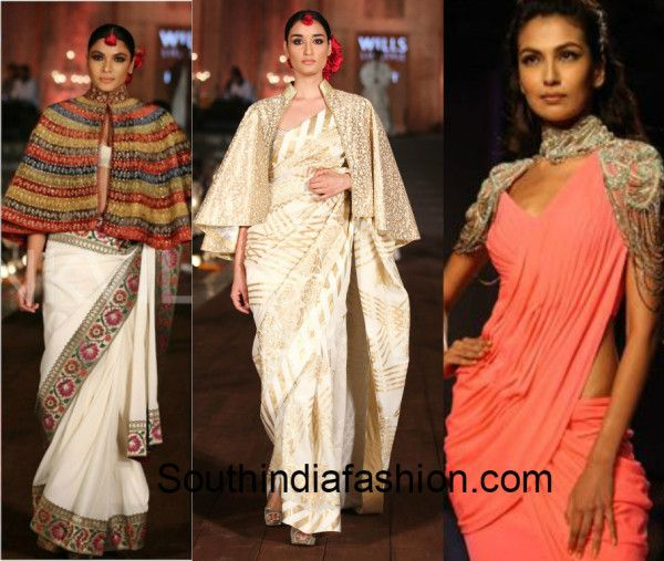 saree-with-cape-collage-1.jpg (600×507)