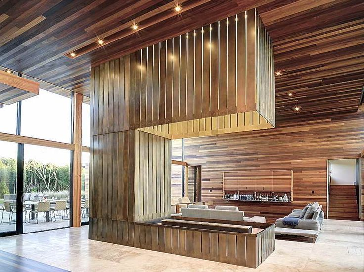 52 best Modern wood paneling images on Pinterest | Gardens ...