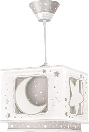 LED Lampe Kinderzimmer Decke Pendelleuchte Sterne Mond