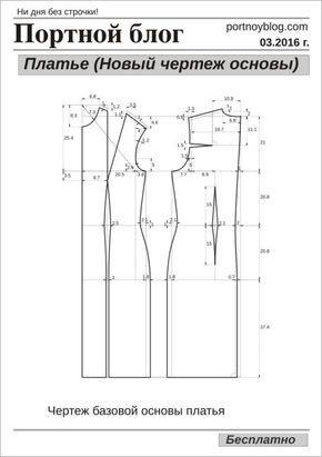 Автоматическое построение выкройки платья
