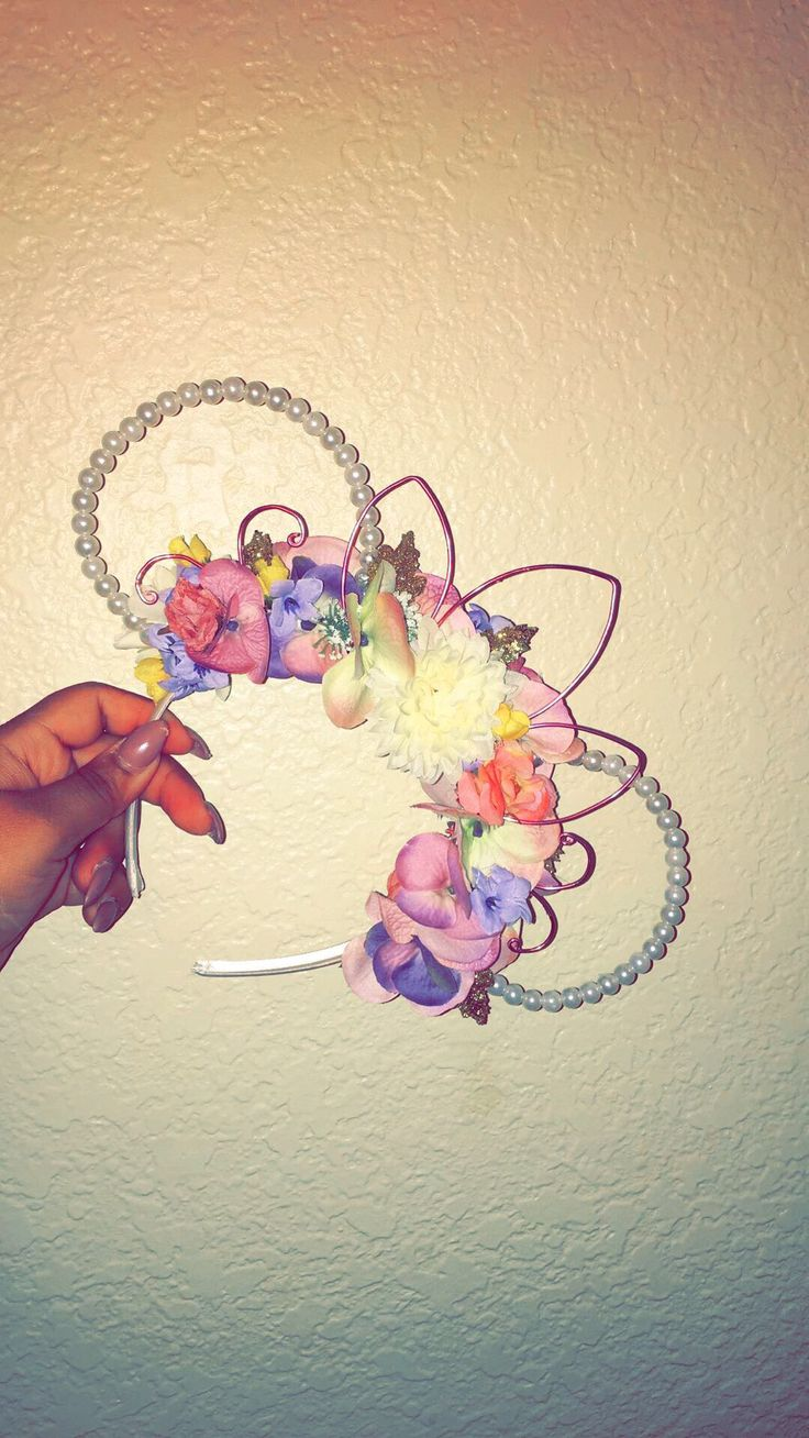 Minnie Mouse Pearl Wire Ears DIY More