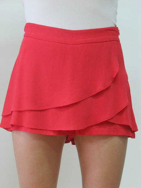 Ruffle front skort by Miss Me Couture
