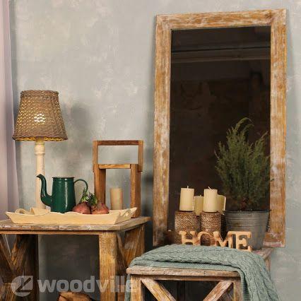 """Серия """"Бунгало"""" - это мебель и аксессуары из цельной искусственно состаренной древесины. Для усиления эффекта все изделия серии покрыты белой патиной. Рама зеркала Бунгало выполнена в стиле Vintage. Большое и удобное зеркало в стильной раме, подойдет как для ванной, прихожей, так и для спальни.  Рама выполнена из сосны, покрыта полимерными составами. #decor   #декор   #мебель   #интерьер   #дерево   #вудвиль   #интернет_магазин   #home   #homemade   #kiev   #украина"""