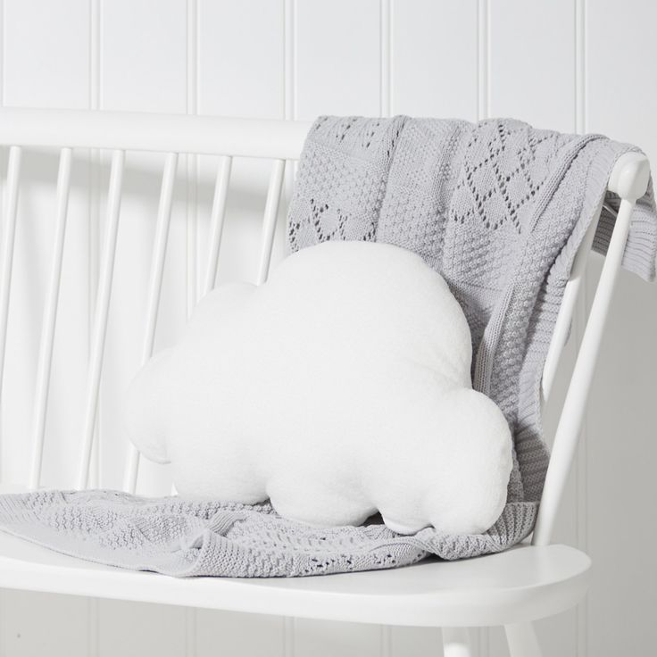 Cloud Cushion | Cushions, Quilts & Throws | Childrens' Bedroom | The Little White Company | The White Company UK