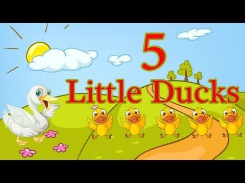 Five Little Ducks from The Learning Station is a popular nursery rhyme song that helps children recognize the numbers 1-5 and teaches early math skills. This is a great video to incorporate into your seasonal theme on spring. The children will love this adorable animated video! Great for preschool and kindergarten.