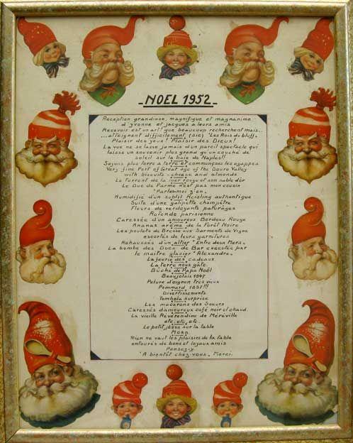 Ornamenti di Natale di carta e Spun Glass cartoline e menu