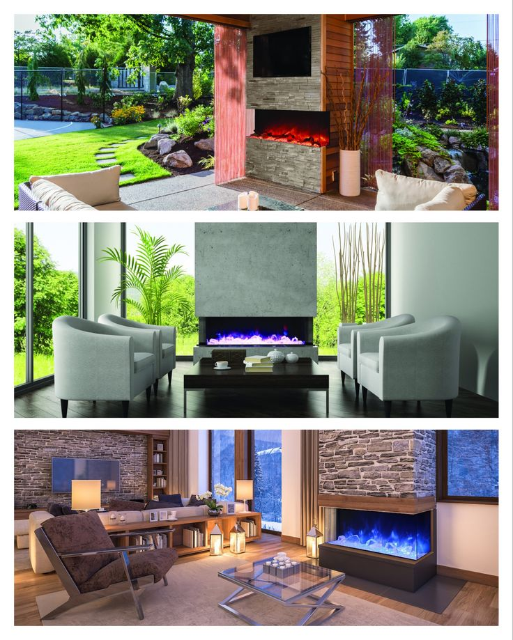 53 Most Amazing Outdoor Fireplace Designs Ever: 25 Best Outdoor Electric Fireplaces Images On Pinterest