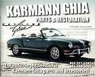 Free Karmann Ghia Parts Catalog