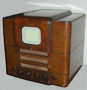 This Is A 1939 Andrea 1f5 Television Set Http Www