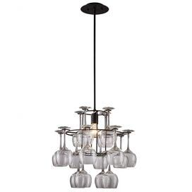 The 25 best wine glass chandelier ideas on pinterest wine glass shelf glass chandelier and - Classic wrought iron chandeliers adding more elegance in the room ...