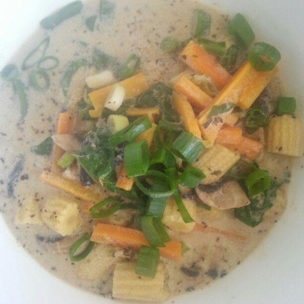 Green Curry Quinoa