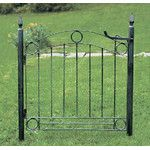 <strong>Country Cottage Wrought Iron Garden Gate</strong> by ACHLA