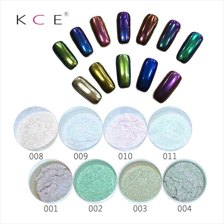 Fashion, gorgeous, cool, 14-colors summer Nail Art Professional Metal  Makeup Mirror Chrome Effect Eye Shadow Pigment Powder