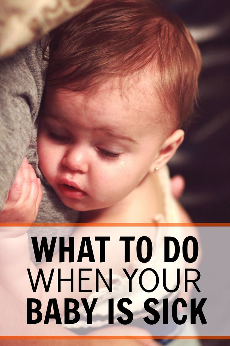 It is so hard when your baby is sick and they can't tell you what is wrong. This is a great post full of ideas to help you soothe your sick baby. What to do when your baby is sick.