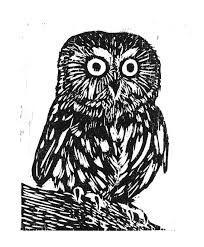 woodcut of Hooty
