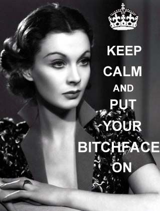 "I wouldn't ordinarily post the ""keep calm"" posters, but I love Vivien"