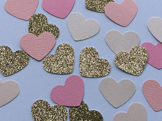 Check out this item in my Etsy shop https://www.etsy.com/au/listing/569005275/heart-confetti-rose-gold-confetti-pink