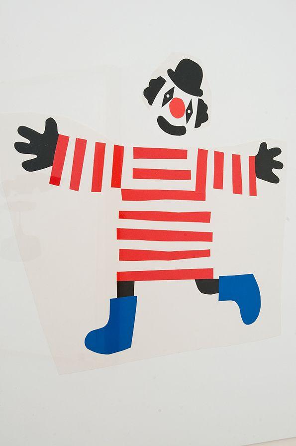 Clown - circus #stripes #redwhiteandblue