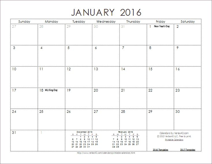 Free Printable Calendar Templates on Pinterest | Yearly ...