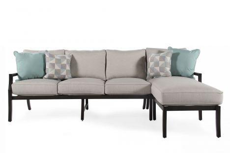 ... Agio International Maddox Sofa/Chaise Set | Mathis Brothers Furniture