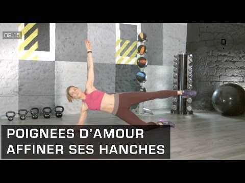 Fitness Master Class - Poignées d'amour - Lucile Woodward - YouTube