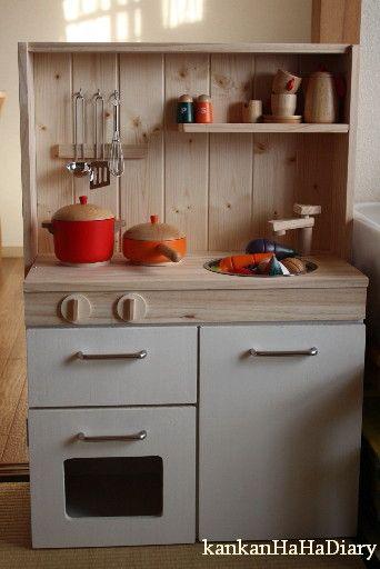 ままごとキッチンを作りたーい その5 - DUCK -wayu's diary-